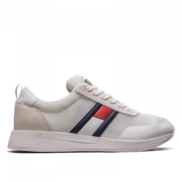 Damen Sneaker Flexi White Navy Red