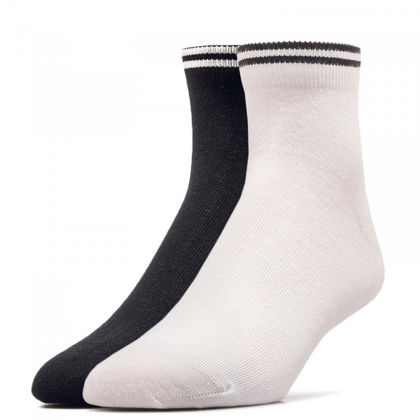 Lacoste Socks 2Pk 8495 White Black