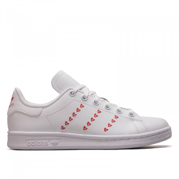 Damen Sneaker Stan Smith J White Red