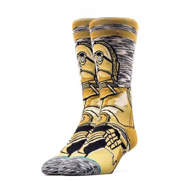 Stance Socks Starwars Android Grey Brown