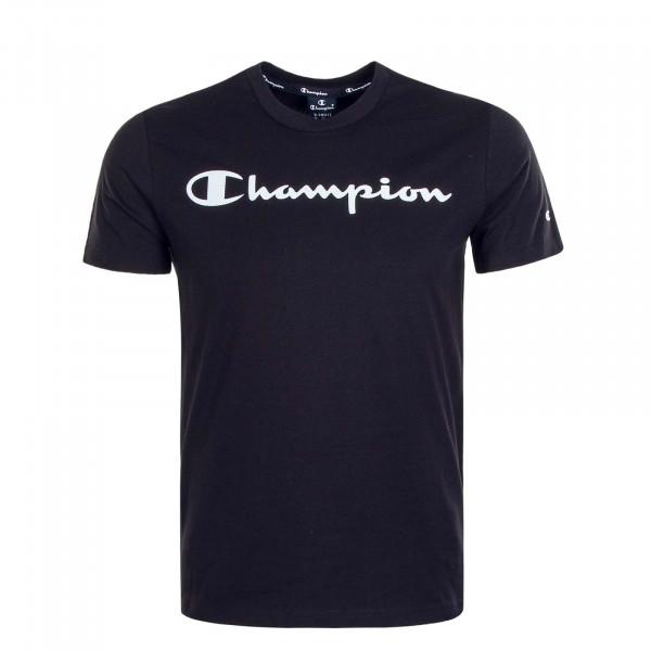 Herren T-Shirt 4142 Black White