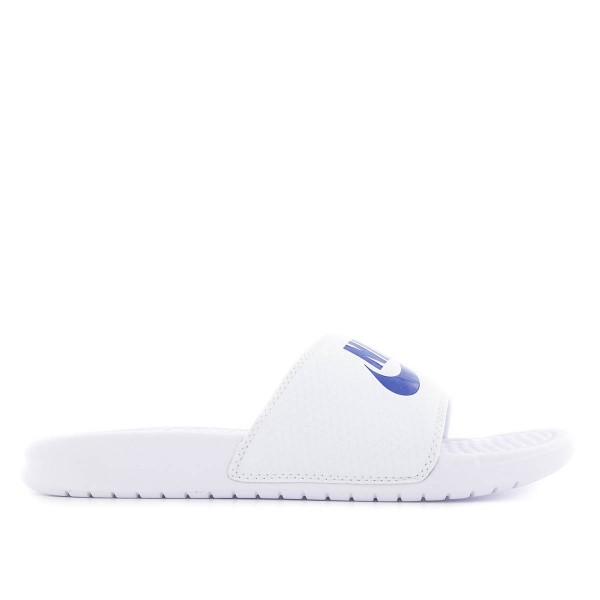Slide Herren Benassi JDI White Blue