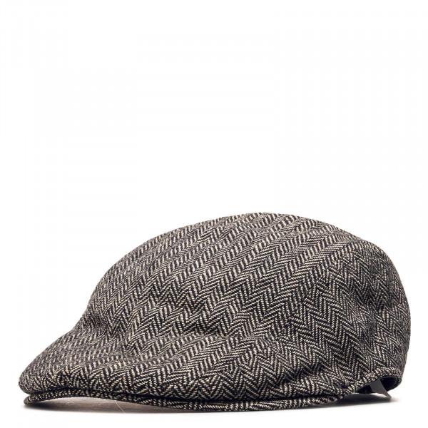 Levis Cap Wool Driver Herringbone Grey