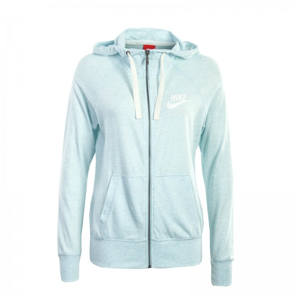 Nike Wmn Sweatjkt Gym Sky