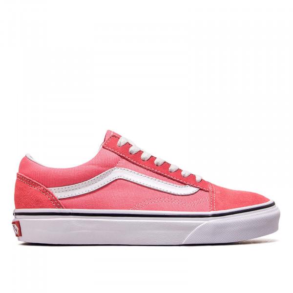 Damen Sneaker Old Skool Strawberry White