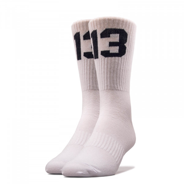 Unisex Socken 13Socks12 White Black