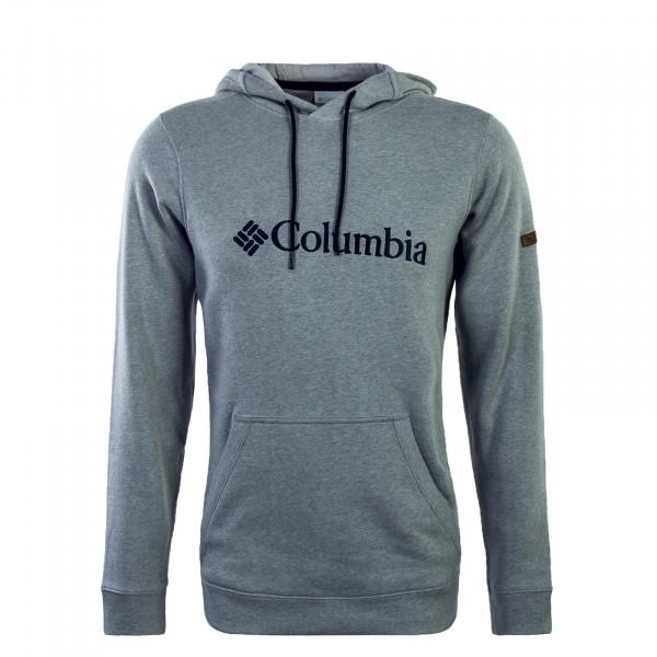 Columbia Hoody Basic Logo Grey Black