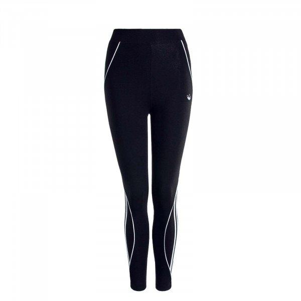 Damen-Leggings Tight Black White