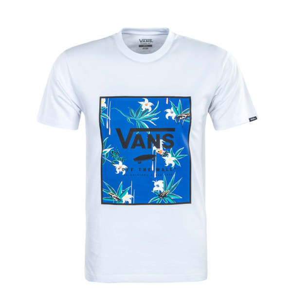 Herren T-Shirt - Classic Print Box - White / Dart / Floral