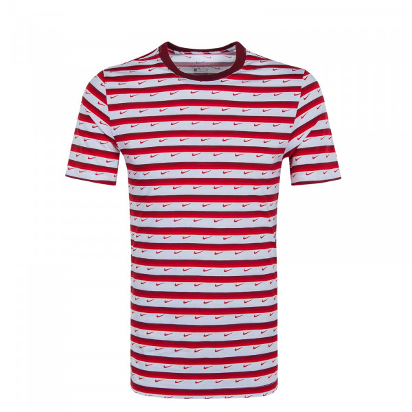 Herren T-Shirt Club Stripe CV9867 Red White