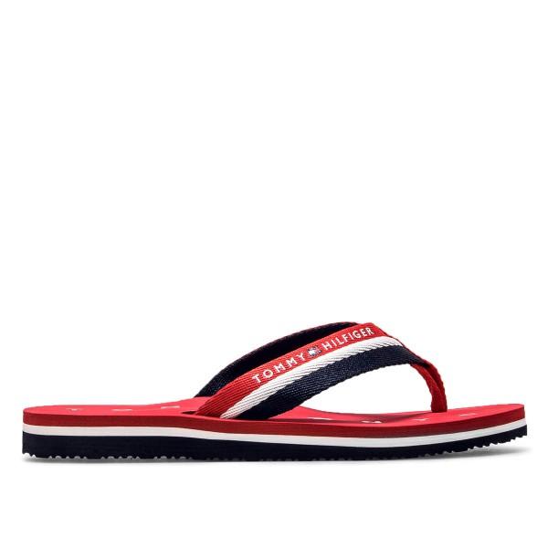 Tommy Wmn Flip Flop Loves Red Navy