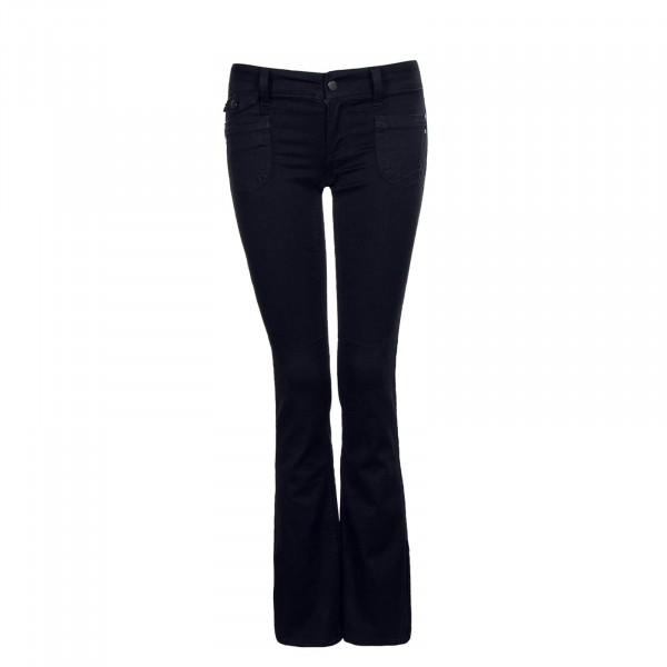 Damen Jeans Bootcut EBBA Soft Black