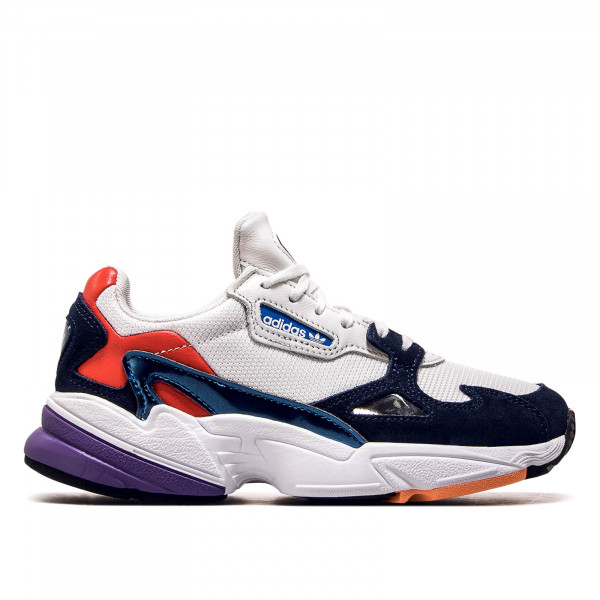 699d83f0a71 Adidas Wmn Falcon White Navy Red