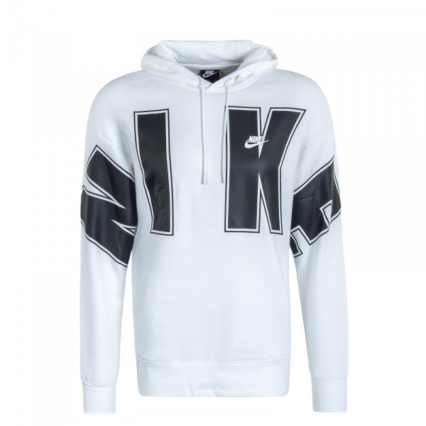 Herren Hoody SC Fleece White Black