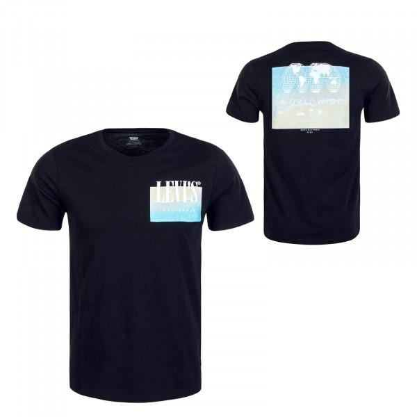 Herren T-Shirt Graphic Setin Photo Black