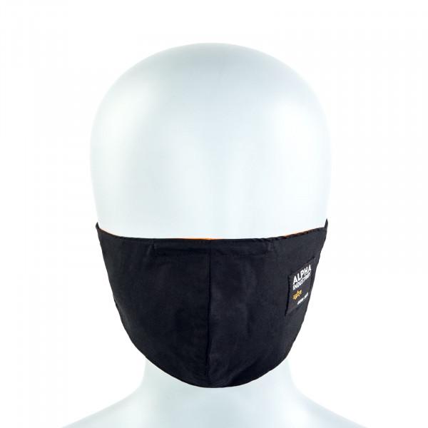 Alltagsmaske - Label Face Mask - Black