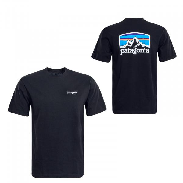Herren T-Shirt Fitz Roy Black