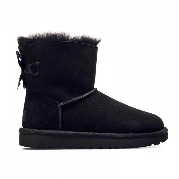 UGG Wmn Classic Mini Bailey Bow Black