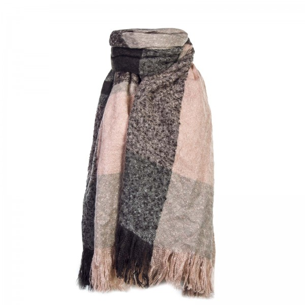 Only Scarf Magnet And Peace Rose Grey