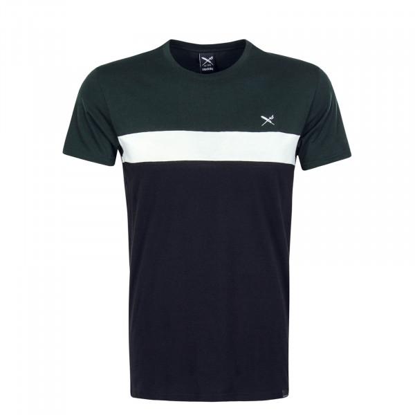 Herren T-Shirt Court Green White Black