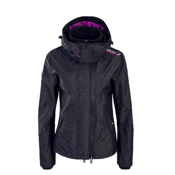 Superdry Wmn Jkt SD Tech Charcoal Purple