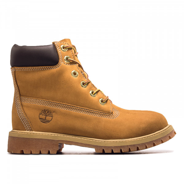 Damenstiefel 6IN PREM Wheat Nubuk Yellow