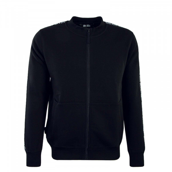 Sweatjacke Taped Black