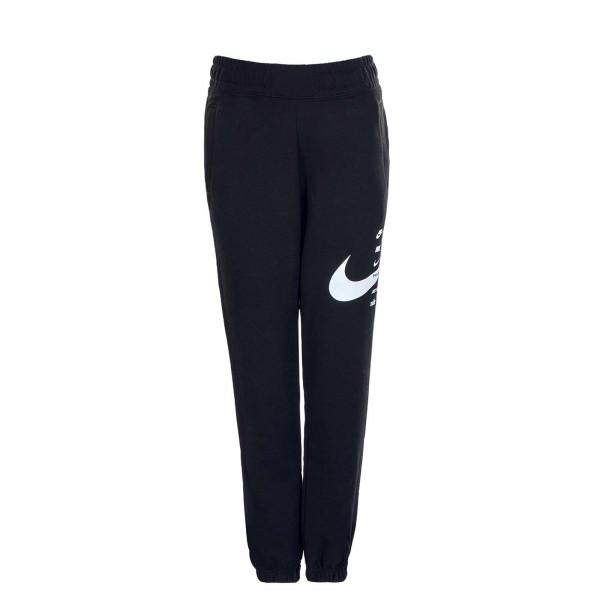 Damen Jogginghose NSW Swoosh Pant FLC Black White