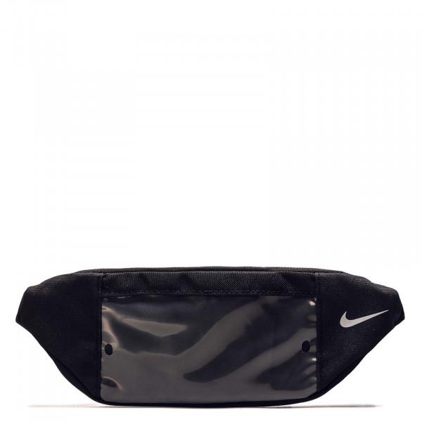 Hip Bag Pack Black Black Silver