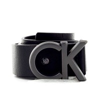 CK Belt ADJ Buckle Black
