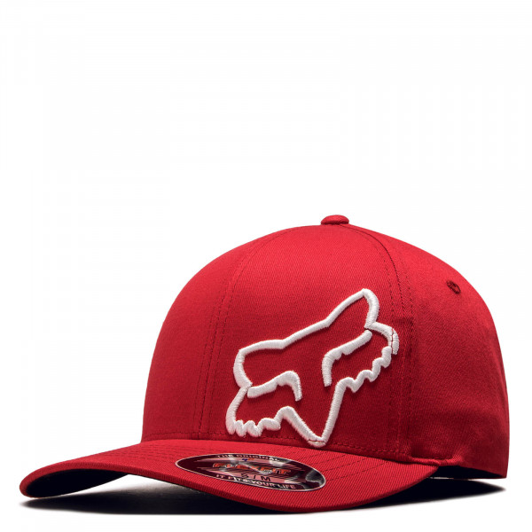 Basecap Flex 45 Red White