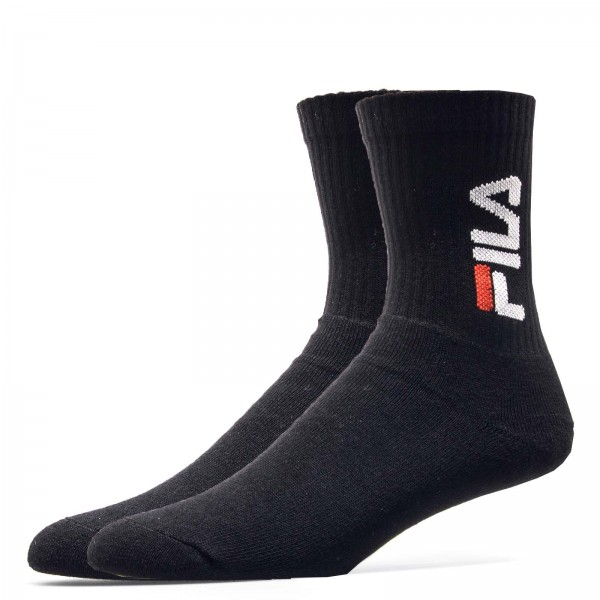Fila Socks 3Pack Tennis Black