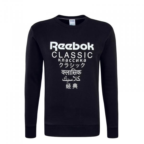 Reebok Sweat GP Flecce Black White