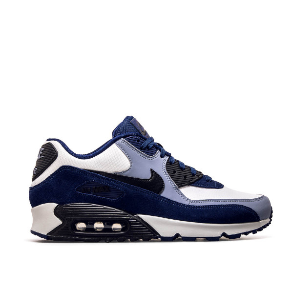 Nike Air Max 90 Lth Blue Black White Ash