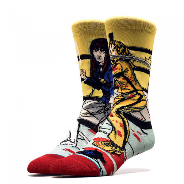Socken Kill Bill Bride Gogo Yellow