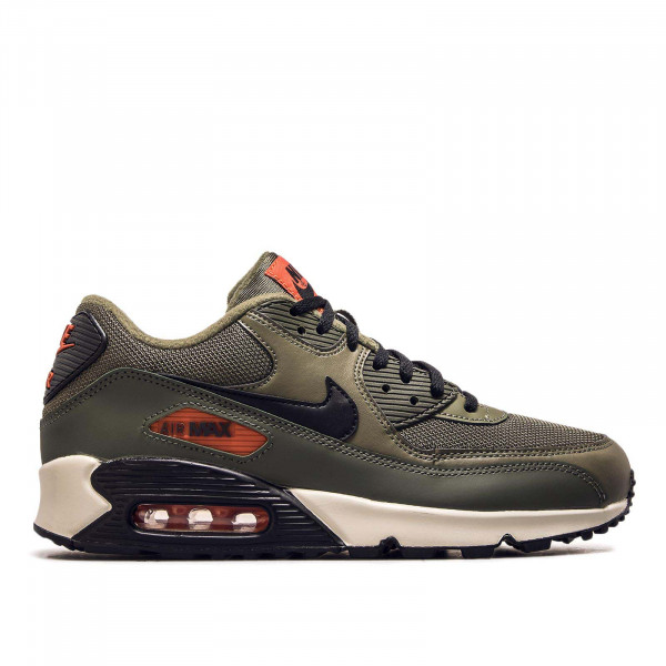 Herren Air Max 90 Essential Olive Orange