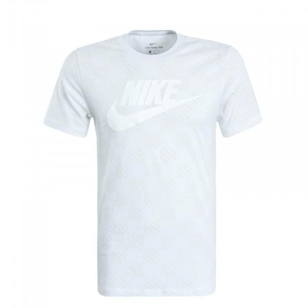 Herren T-Shirt Triple White