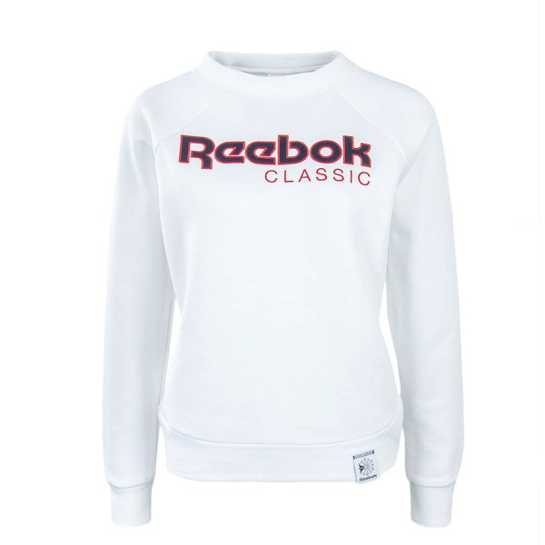 Reebok Wmn Sweat Iconic Crew White