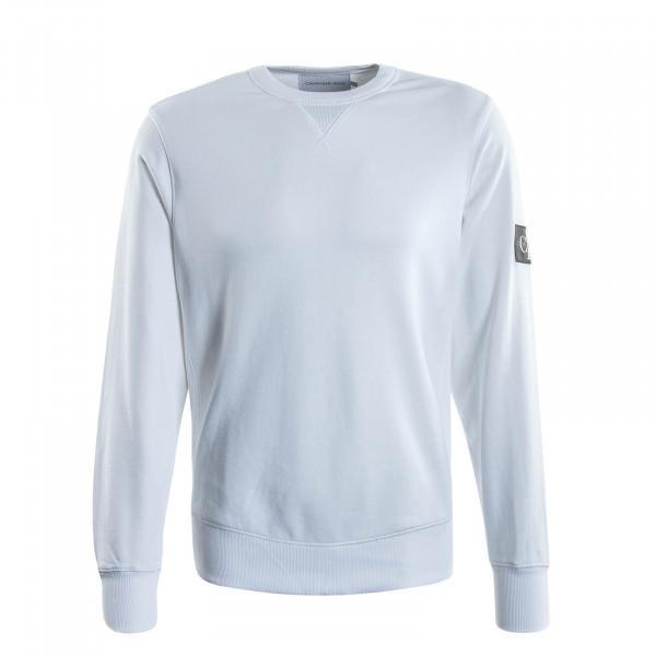 Herren Sweatshirt Monogram 4035 White
