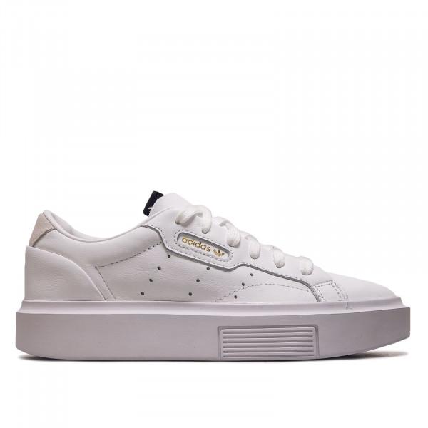 Damen Sneaker Sleek Super W White White Black