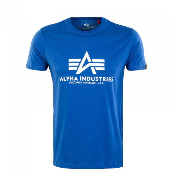 Herren T-Shirt - Basic Nasa - Blue
