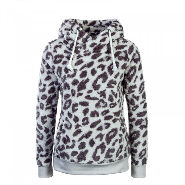 Damen Hoody Fleece 2024F Leo White