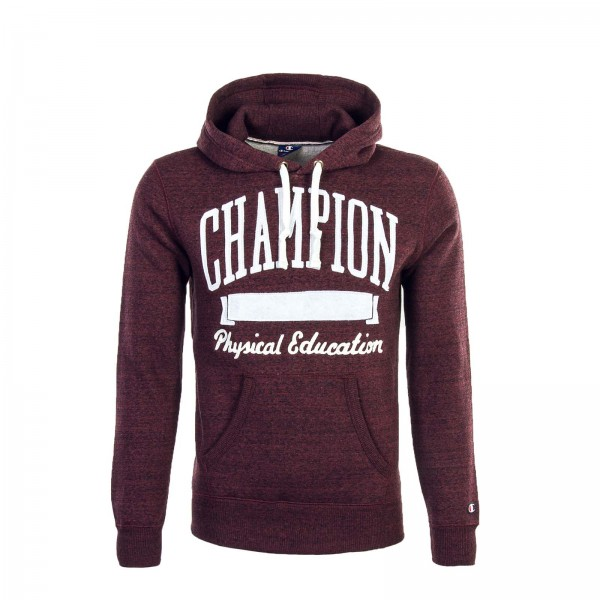 Hoody 210717 Bordeaux White