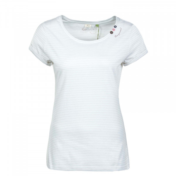 Damen T-Shirt - Florah C Orcanic - White