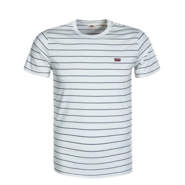 Herren T-Shirt Original HM Patch Stripe Beige
