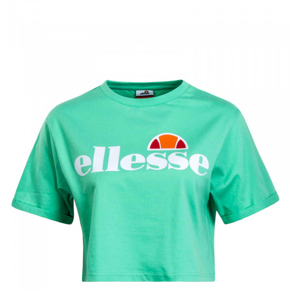 Damen T-Shirt Crop Alberta Green