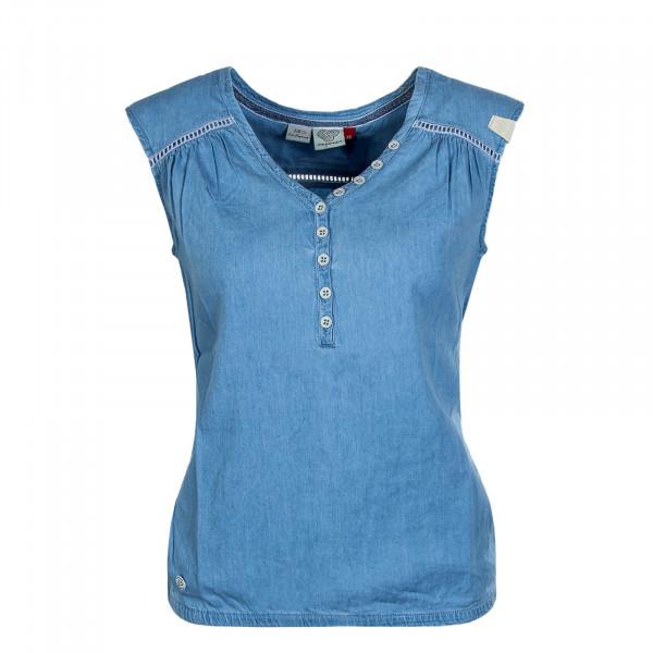 Damen-Top Salty Denim Light Blue