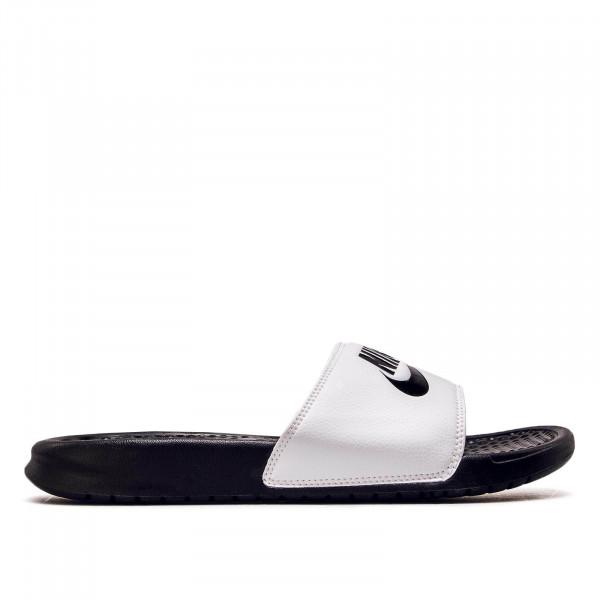 Nike Slide Benassi JDI White Black