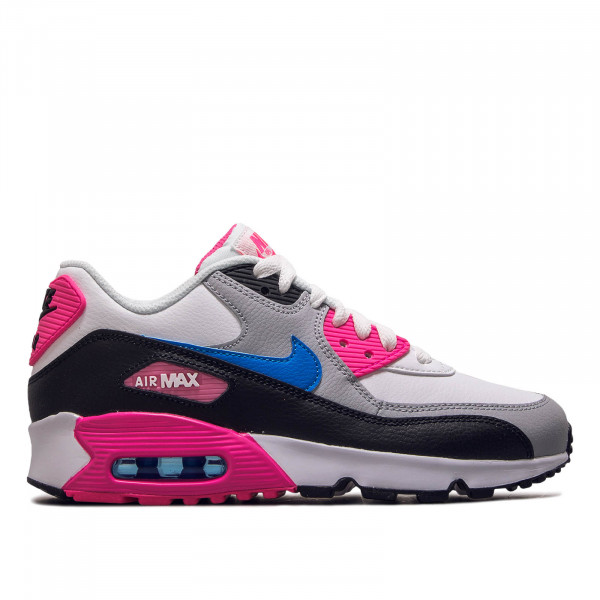 Damen Sneaker Air Max 90 LTR GS White Black Pink