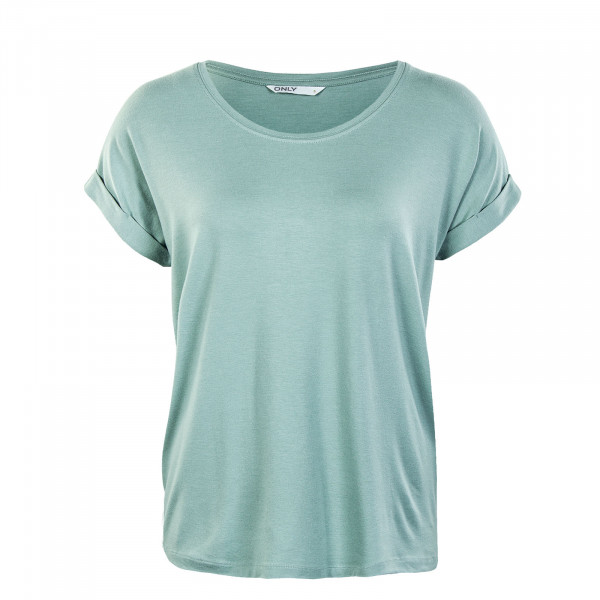 Damen Shirt - Moster Neck Top - Jadeite